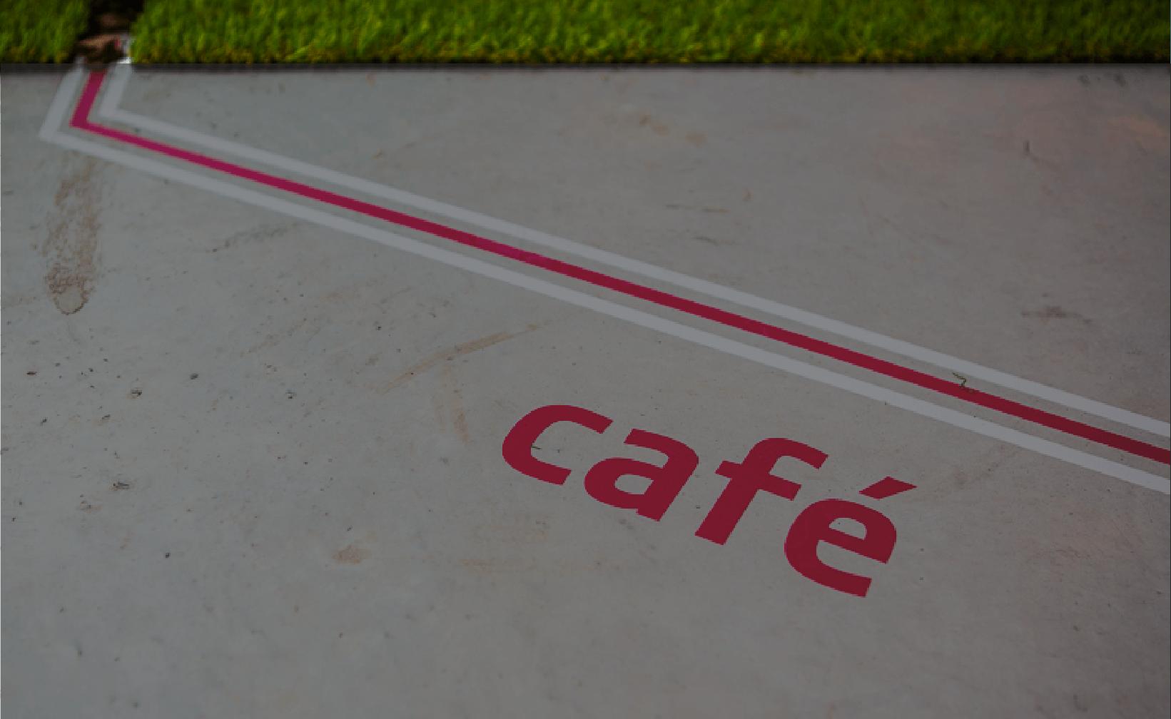 cafe sticker